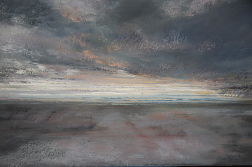 013 (pastel) by Averil Gilkes | pastel painting, seascape