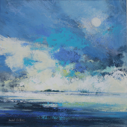 Glorious Day (pastel) by Averil Gilkes | pastel painting, seascape