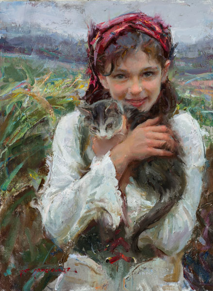 Portrait Painting by Daniel Gerhartz, Q&A at ArtistsNetwork.com