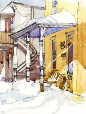 Urban sketches by Shari Blaukopf | ArtistsNetwork.com
