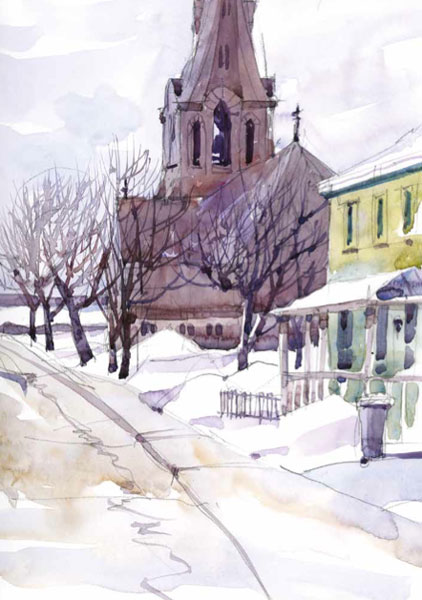 Urban sketches by Shari Blaukopf | ArtistsNetwork.com
