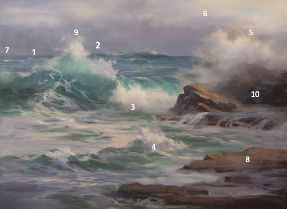How to paint a seascape, by Johannes Vloothuis | ArtistsNetwork.com