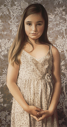 Phillipa (pastel, 27-1/2x21-1/4) by Simone Bingemer