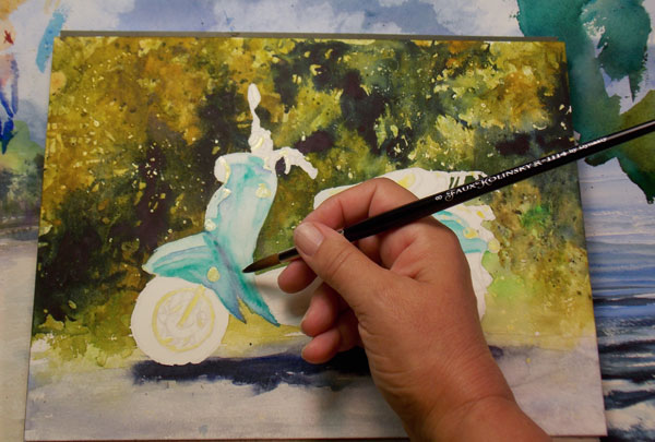 Watercolor painting for beginners , a Demo by Annie Strack | ArtistsNetwork.com