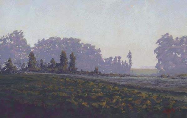 August Morn 8x12 Stan Sperlak-pastel