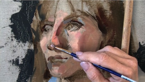 Oil Painting Portraits in Cool Light