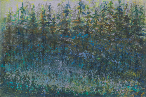 Twilight Fog (pastel) by Stanley Maltzman