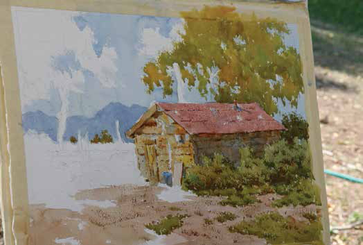 Create Landscape Watercolor paintings with this free guide