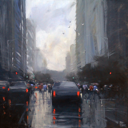 Acrylic painting by Mike Barr at artistsnetwork.com