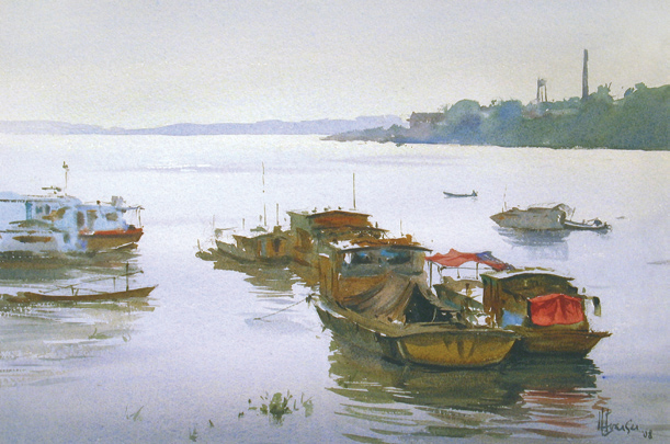 Pros and cons of plein air watercolor