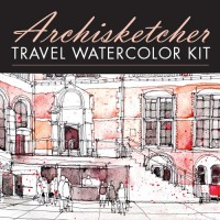 Archisketcher Travel Watercolor kit | ArtistsNetwork.com