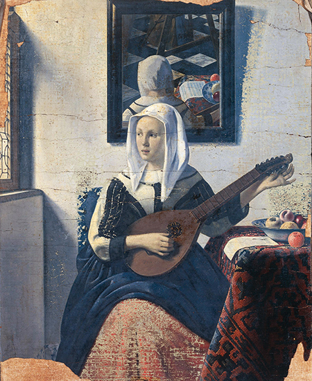 Woman Playing the Lute Han van Meegeren ca 1933 58 x 47 cm