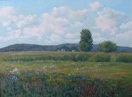 Summer Day, Plum Island by Jeanne Pierce, 2008, oil, 12 x 16.