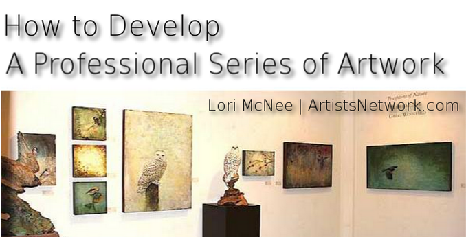 Art business tips with Lori McNee | ArtistsNetwork.com