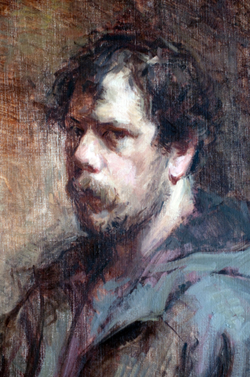 Self-Portrait by Ben Fenske, 2010.