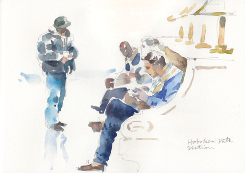 Zhang_Hoboken_watercolor portrait_www.artistsnetwork.com