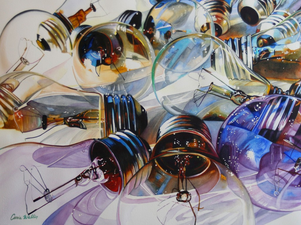 Incandescent by Carrie Waller - Artist of the Month TAM