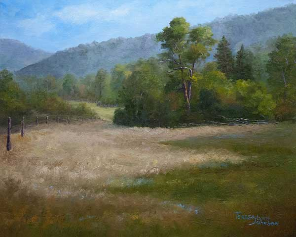 Art critiques at ArtistsNetwork.com | Oil painting by Teresa Johnson