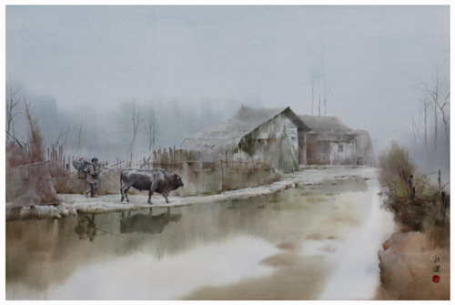 Fog In Winter by Liu Yong Jian (China)