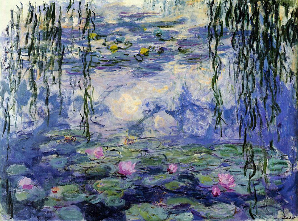 Monet's paintnig of Giverny