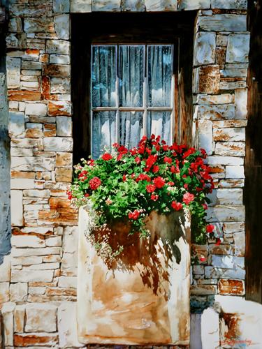 Window Carmel by Xiaochang Zhang (USA/China)