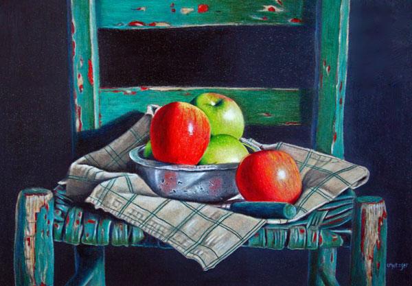 Art critique of Back Porch Memories by Cheryl Metzger | ArtistsNetwork.com
