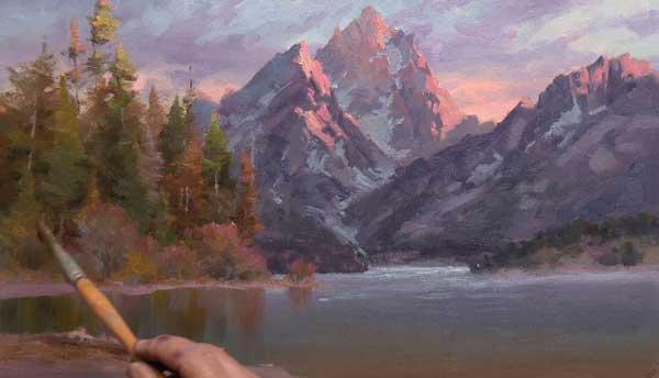 Landscape painting art workshops | Johannes Vloothuis, ArtistsNetwork.com