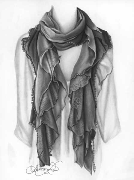 How to draw clothing and fabric | Lee Hammond, ArtistsNetwork.com