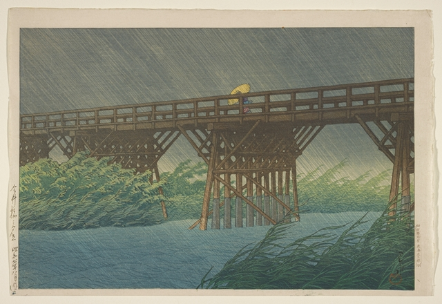Kawase Hasui| Japanese Prints at MIA | ArtistsNetwork.com