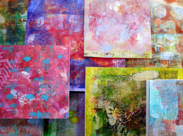 Mixed-media collage with Chris Cozen | ArtistsNetwork.com