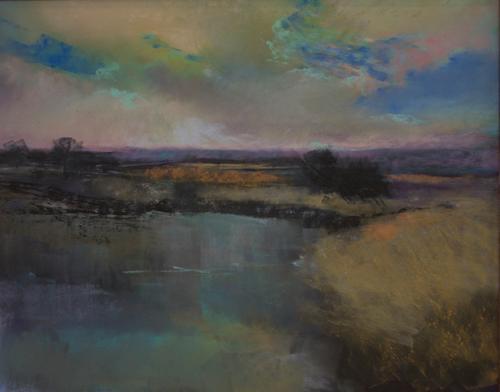 pastel-landscape-Anna-Wainright-Freshwater | Artistsnetwork.com