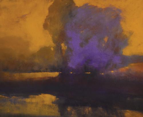 pastel-landscape-Anna-Wainright-TheStand | Artistsnetwork.com