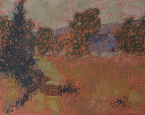 pastel-landscape-Michael-Chesley-Johnson-Tobeys-Path_demo4 | Artistsnetwork.com