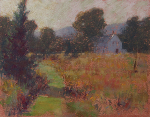 pastel-landscape-Michael-Chesley-Johnson-Tobeys-Path_demo5 | Artistsnetwork.com