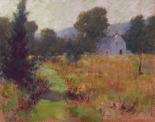 pastel-landscape-Michael-Chesley-Johnson-Tobeys-Path_demo6 | Artistsnetwork.com