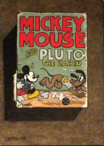 pastel-still-life-David-Francis-Mickey-Mouse | Artistsnetwork.com