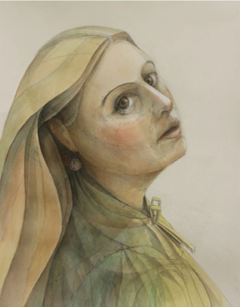 Watercolor painting inspiration | Julia Sorrell, ArtistsNetwork.com