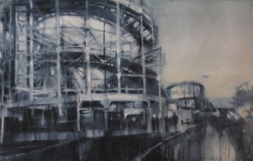 Watercolor Painting_Susan Weintraub_Rollercoaster | Artistsnetwork.com
