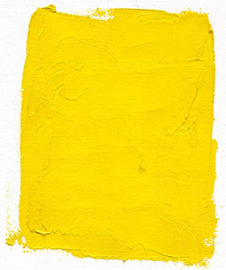pigments: Gamblin chrome yellow