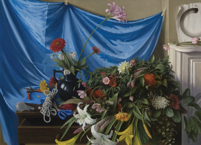 Still Life With Flowers by Sheldon Tapley
