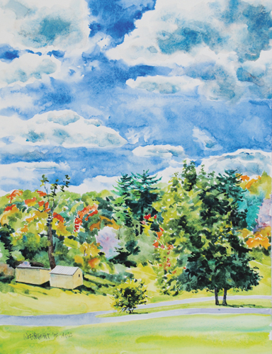 watercolor landscape_Wright-3_DSC_0064 | artistsnetwork.com