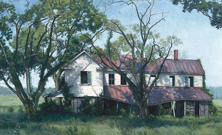 Abondoned House, Edwardsville, Virginia by Ephraim Rubenstein