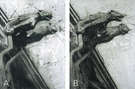 Cathedral V and VI by Ephraim Rubenstein