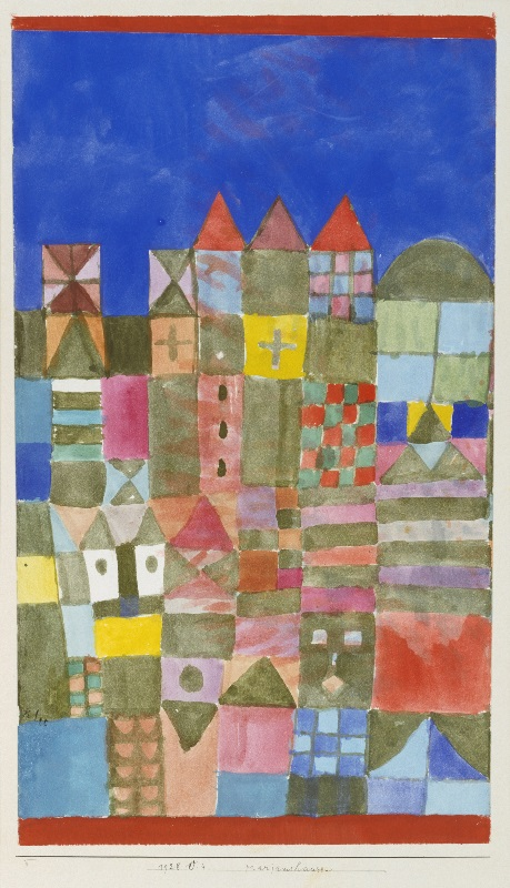 Drawings - Paul Klee - Marjamshausen