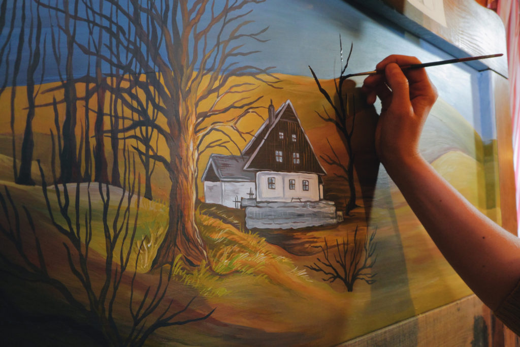 Painting a Landscape | Touching up a Painting | Getty Images | Artists Network