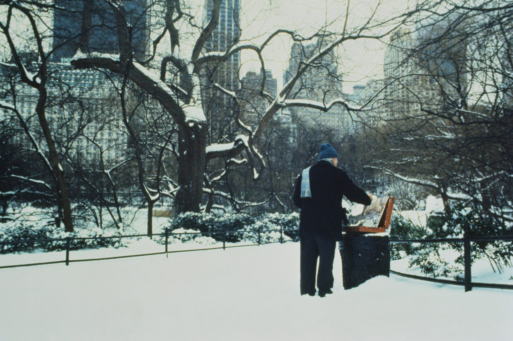 Plein Air Painting in Winter | Plein Air Artist in Winter | Getty Images | Artists Network