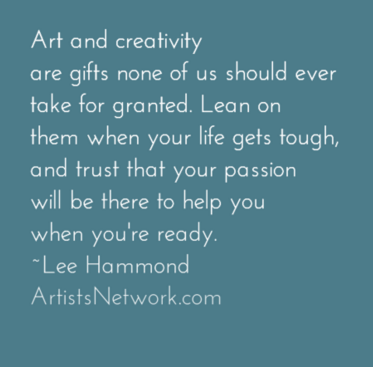 Inspiration for artists | Lee Hammond, ArtistsNetwork.com