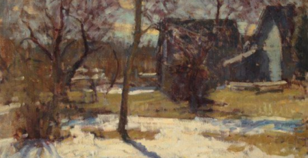Ben Fenske | Plein Air Painting in Winter | Artists Network