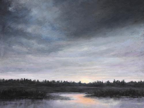 pastel_landscape_Silence_Kathleen McDonnell | artistsnetwork.com
