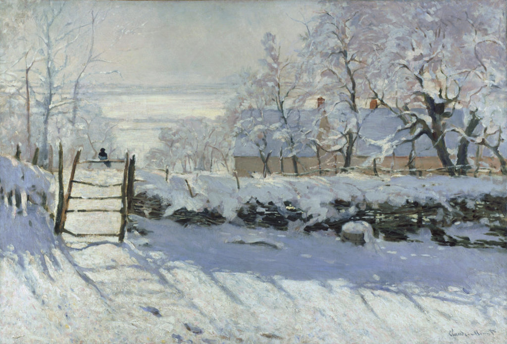 Claude Monet | Painting Snow | Artists Network